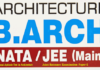 JEE MAIN ARCHITECTURE QUESTION PAPER
